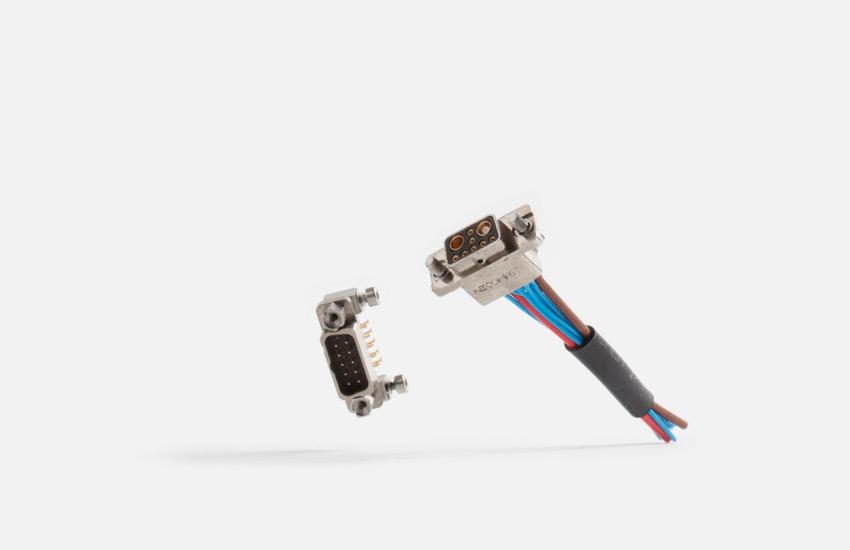DMM Micro-Stecker Metallgehäuse
